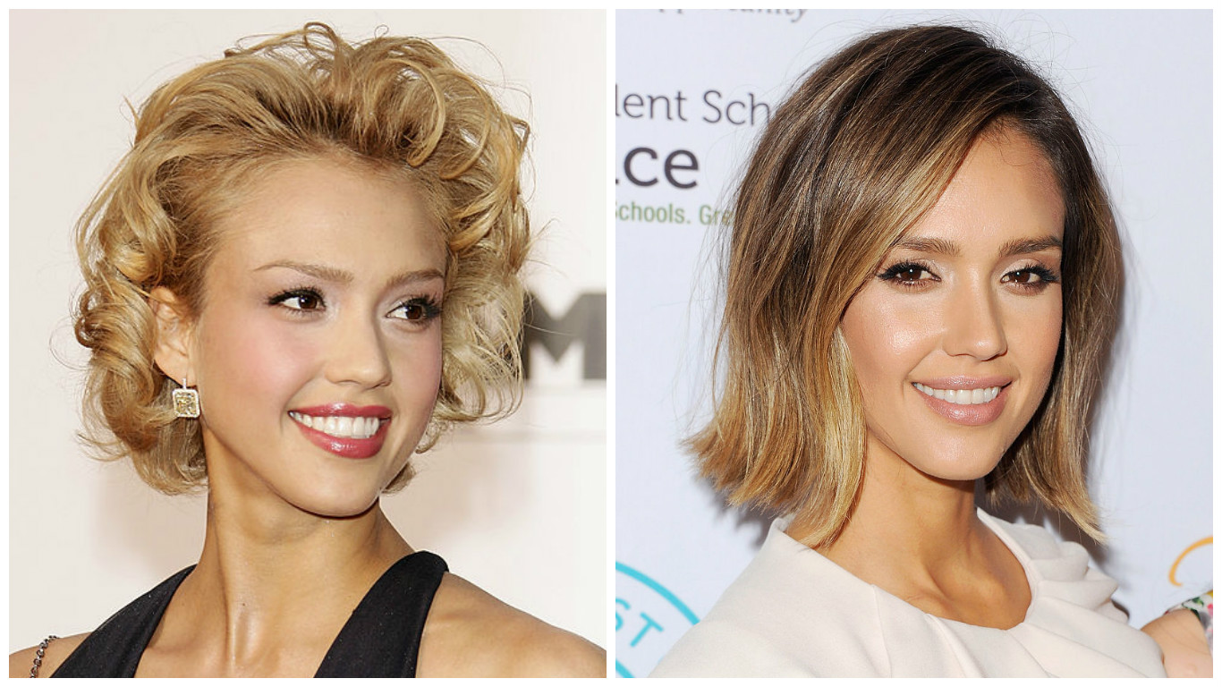 Окрашивание волос которое делает моложе