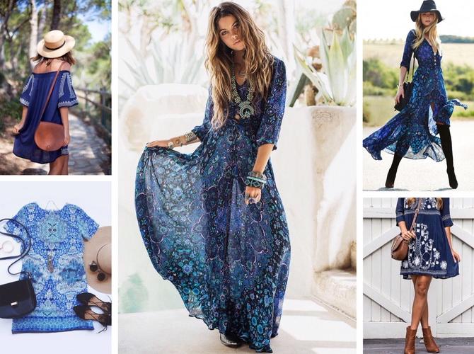 Стильные платья 2017 луки