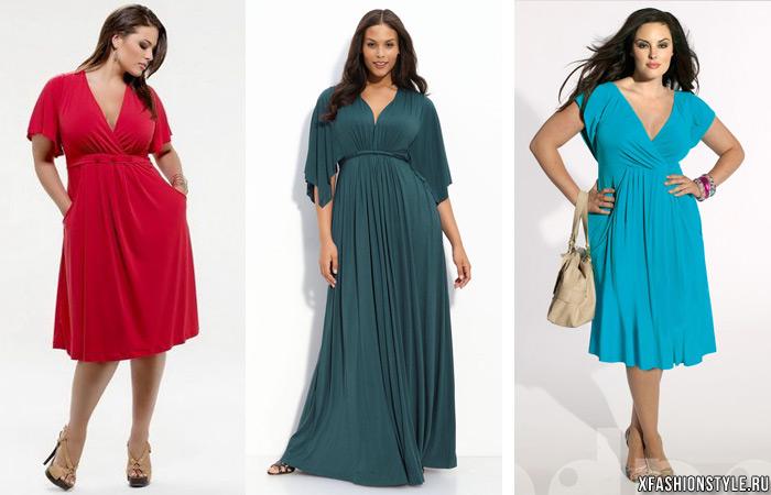 Платья в стиле ампир для полных новые модели сезона 99