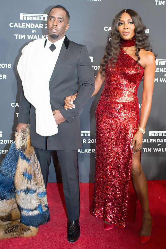 Роскошный образ: Наоми Кэмпбэлл появилась сразу в 2-х шикарных платьях