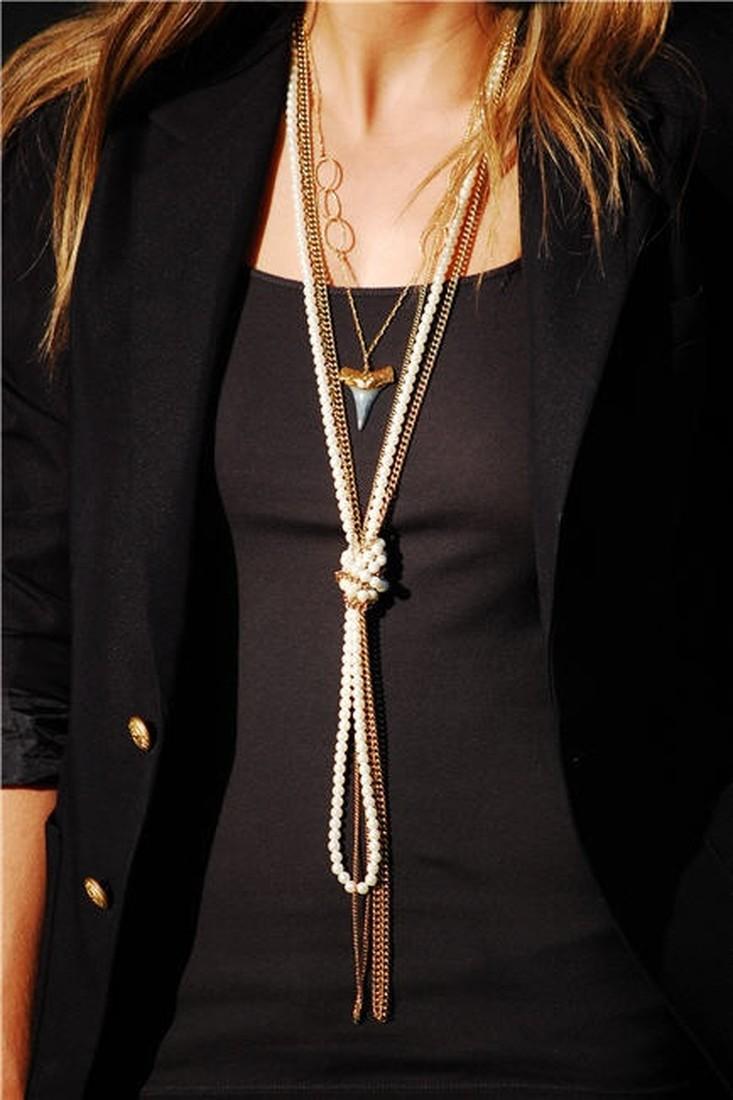 Железная цепь с чем носить