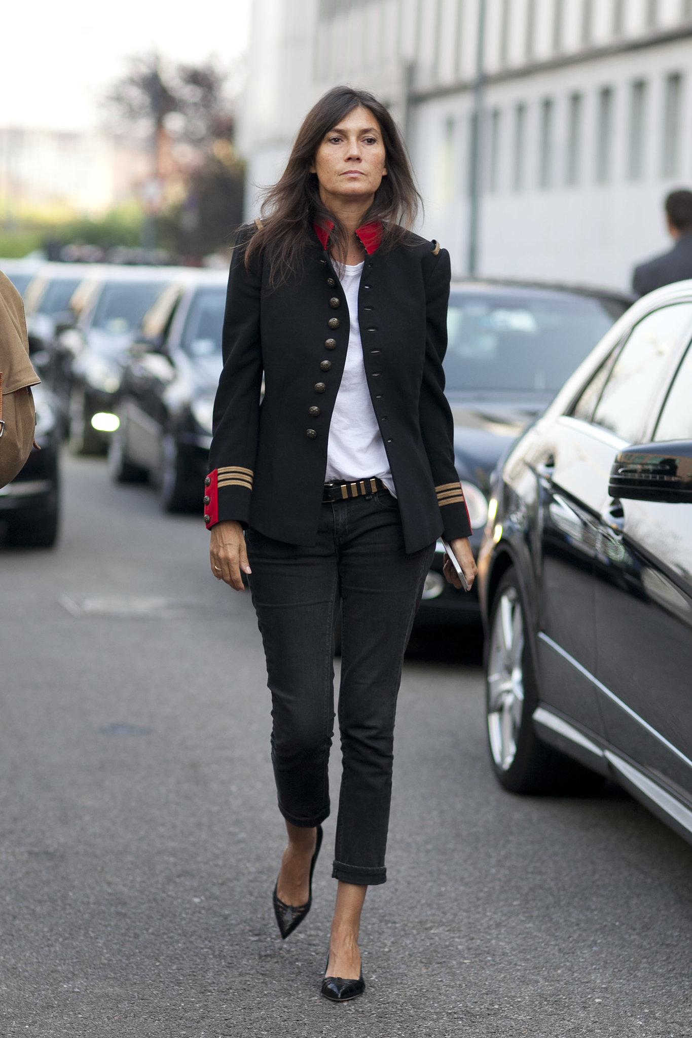 Как носить черный: 6 советов от редактора французского VOGUE