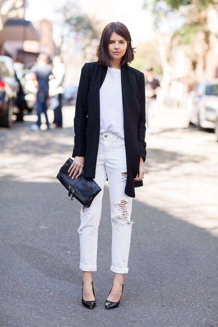 Black and white fashion trend 2018 89