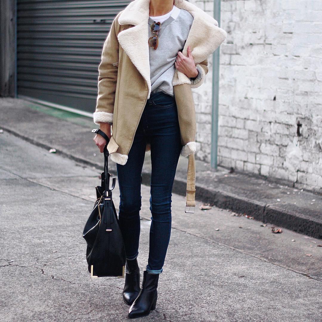 Что носить зимой: 25 повседневных образов на холодную пору