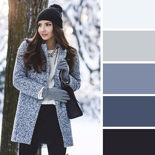 Готовая fashion-палитра: 6 эффектных сочетаний цветов на зиму в 2019 году