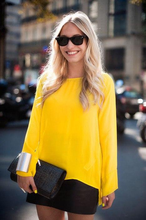 Солнечное настроение: 8 идей, как носить желтый в любое время года