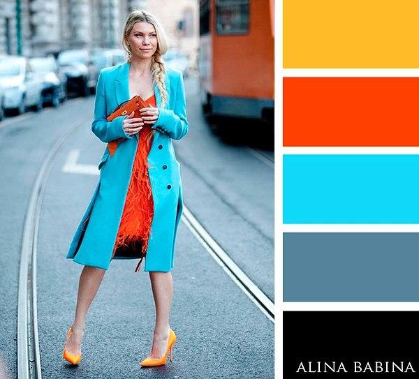 Прямо в точку: 6 идеальных сочетаний цветов в одежде для этой весны