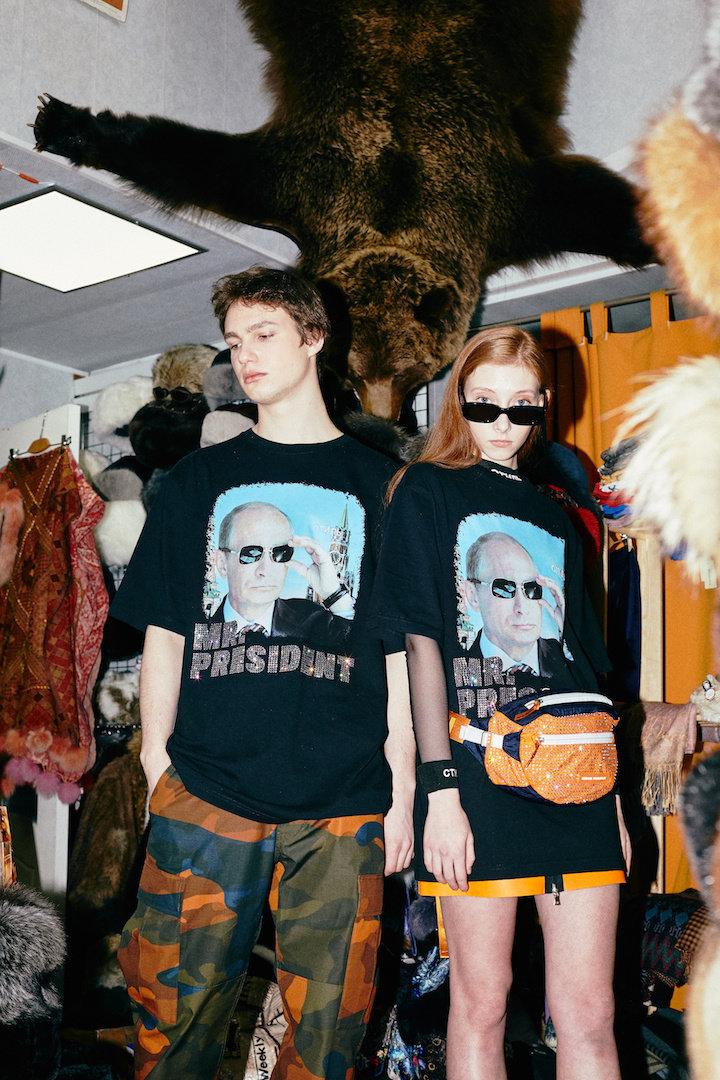 Как американцы из русского президента сделали модный принт!
