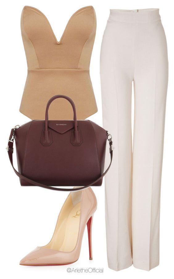 Идеальные варианты, с чем носить светлые туфли-лодочки