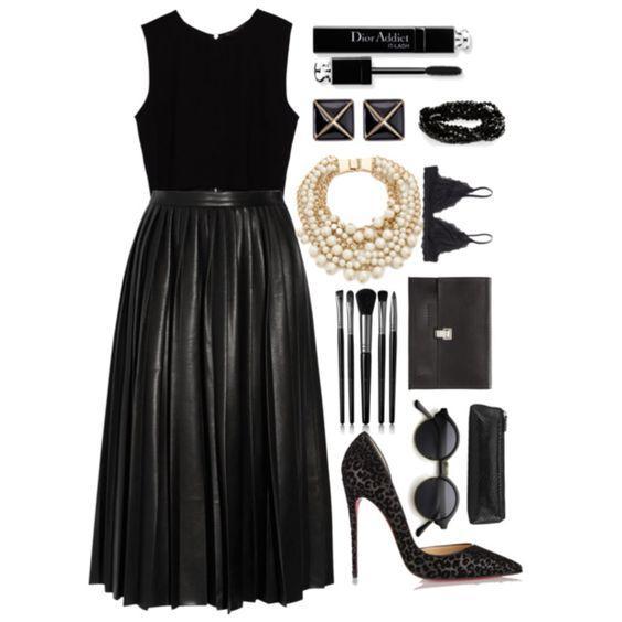 Черный лебедь: 6 советов, как правильно носить Total Black