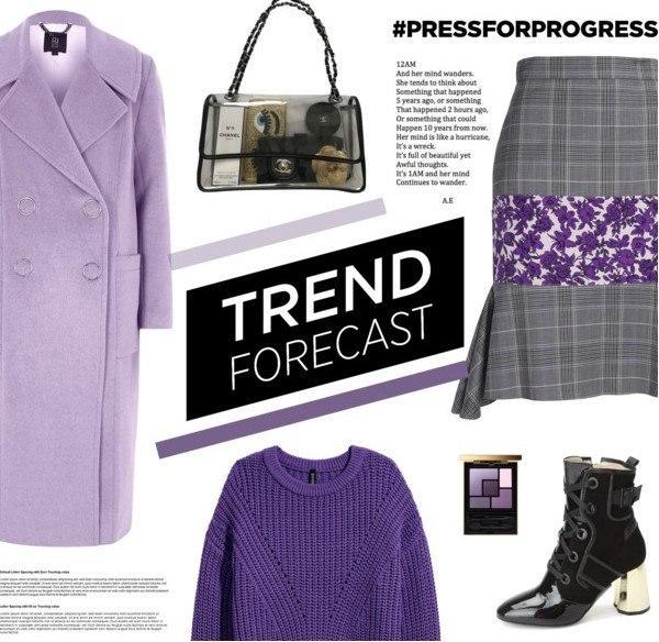 Total-Ультрафиолет: 6 весенних сетов в модном цвете