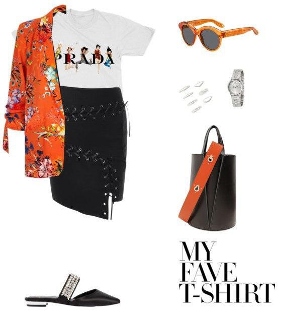 Мода по-европейски: 6 весенних сетов с футболкой