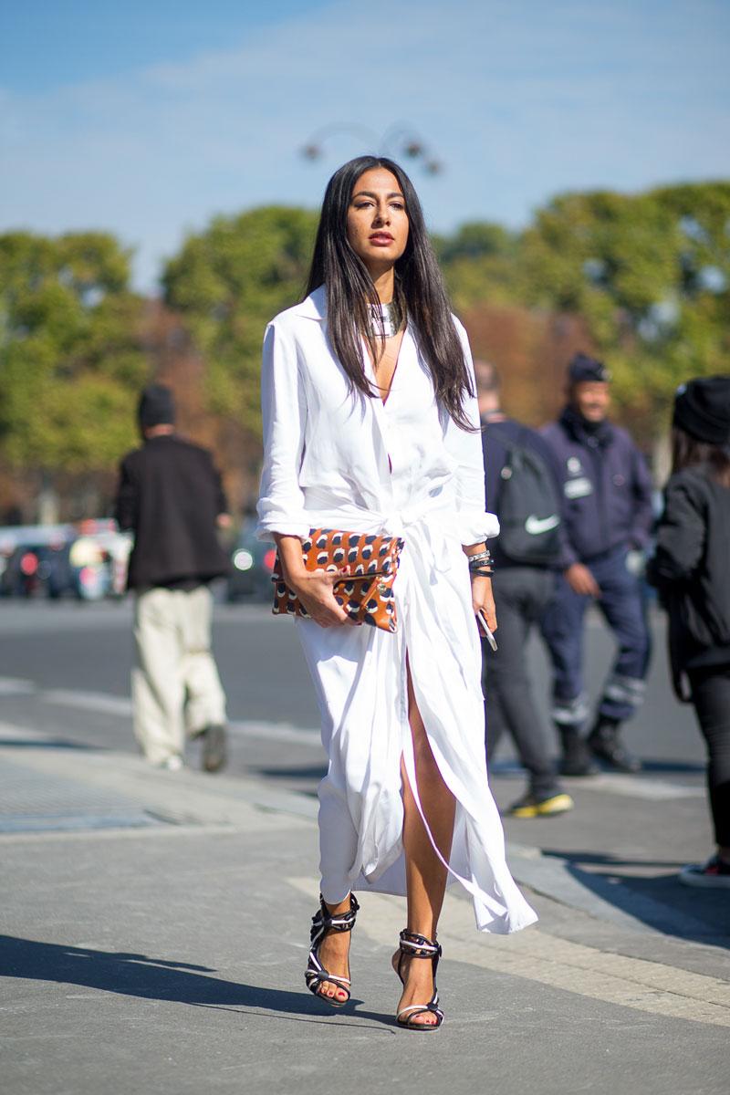 В платье белом: 6 идеальных примеров, с чем носить