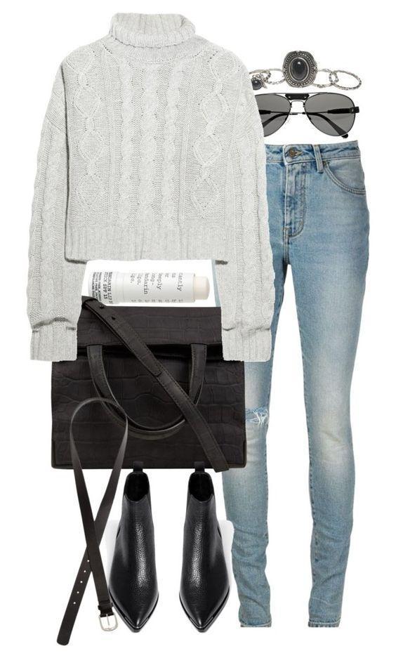 Свитер + джинсы: 9 простых идей, как сделать обычное необычным