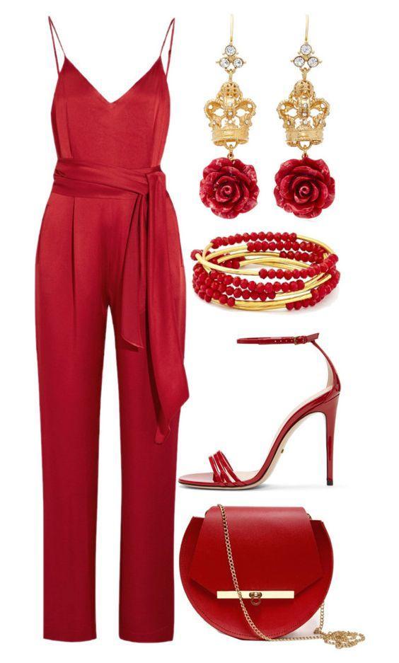 Тотальный красный: 15 образов в самом эффектном цвете