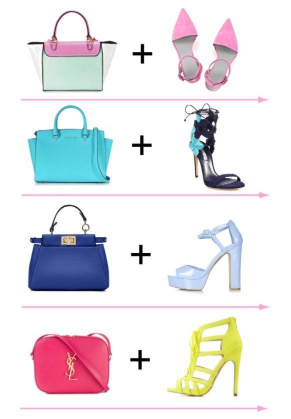 Долой скуку: ТОП-6 стильных идей, как сочетать обувь и сумку