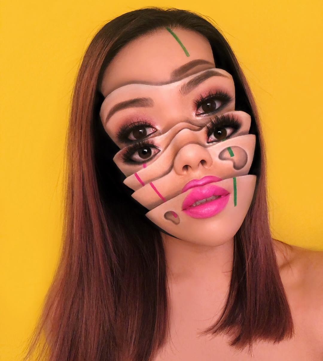 Визажист из Канады создает жутко красивый макияж, от которого невозможно отвести взгляд
