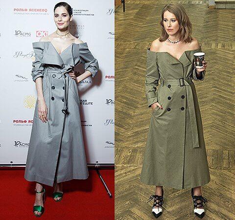 Юлия Снигирь VS Ксения Собчак: на ком лучше сидит платье от Ruban
