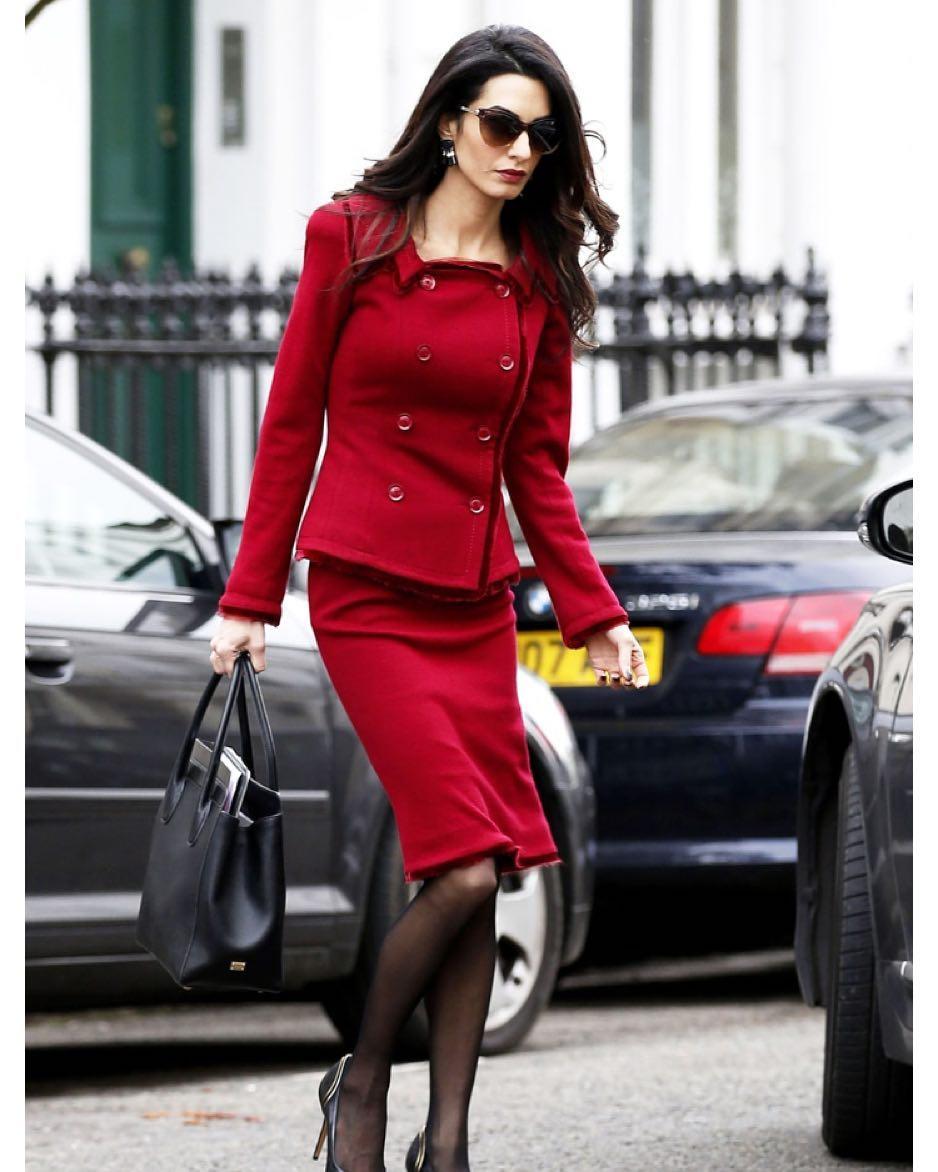 5 уроков стиля от модной иконы Амаль Клуни