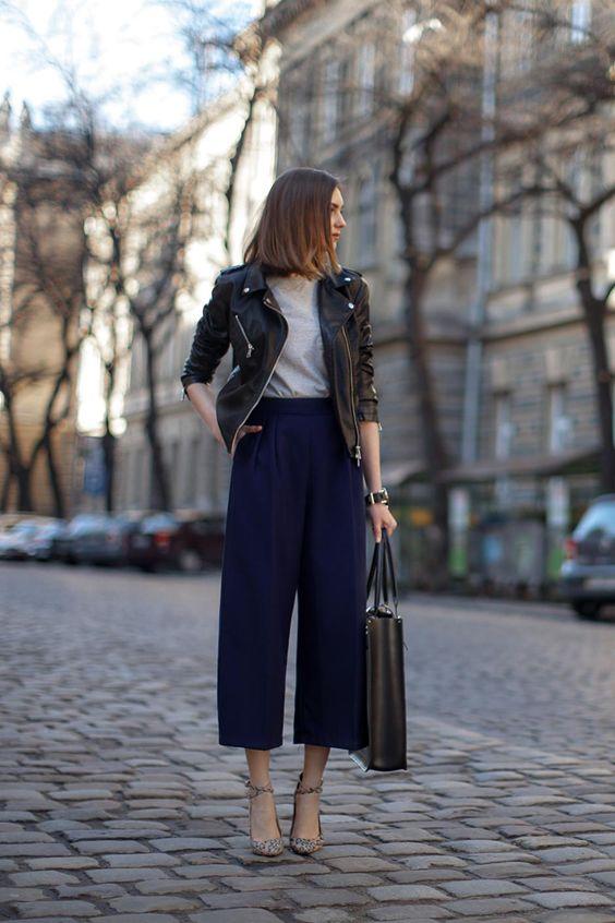 12 шикарных образов с широкими брюками для тех, кто любит все необычное