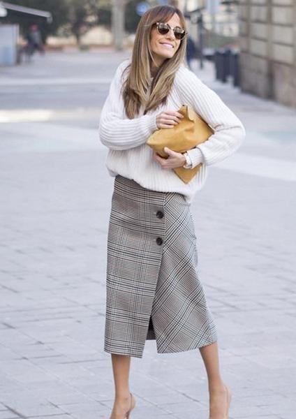 Эта модель юбки поможет обольстить любого мужчину. Выбирать вам!
