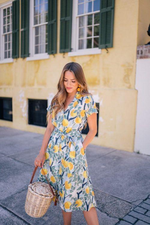 Как носить лимонный принт: 3 свежие идеи для модниц любого возраста