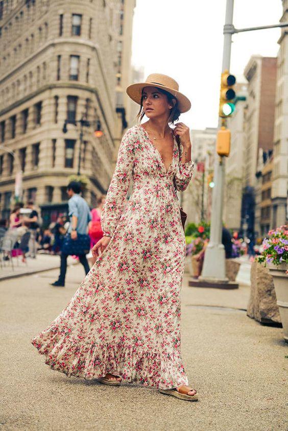 15 ярких доказательств того, что в макси-платье можно выглядеть сексуально!