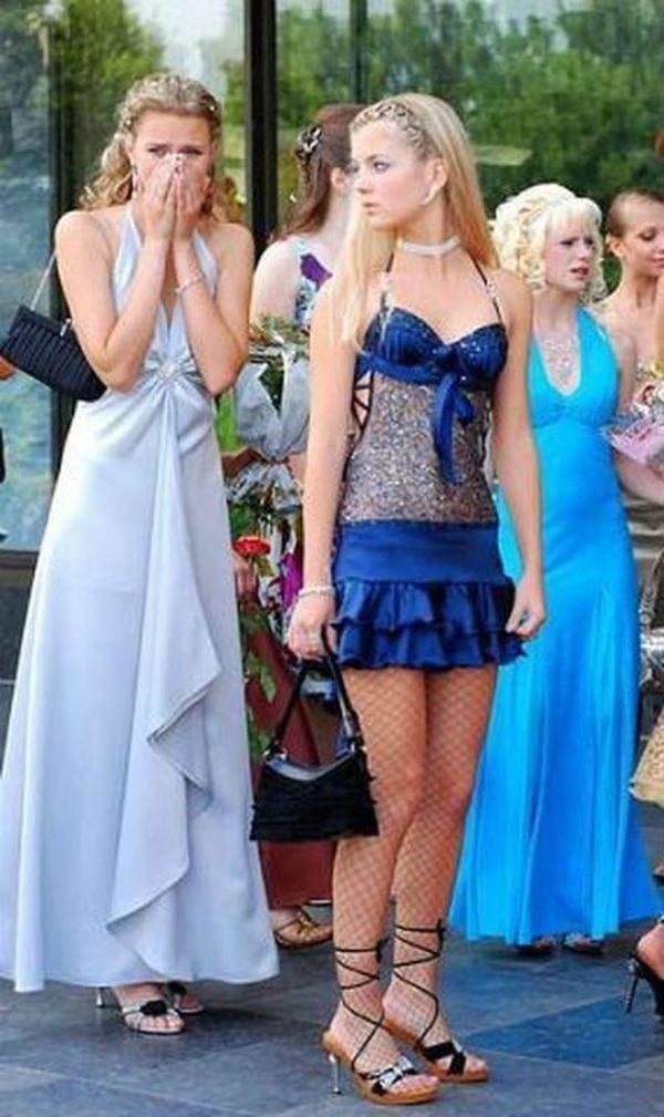 20 нелепых платьев на выпускной, которые еще долго будут сниться в кошмарах