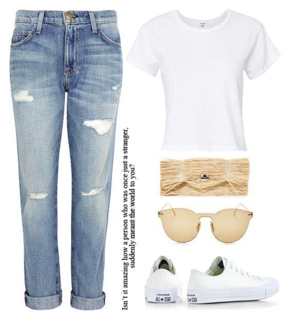 9 нескучных образов с рваными джинсами, когда вам нечего надеть