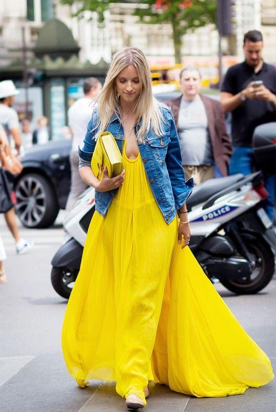 12 образов в желтом цвете, которые вдохновят вас на эксперименты
