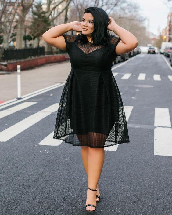 5 модных хитростей, как одеваться полным девушкам и очаровывать всех вокруг