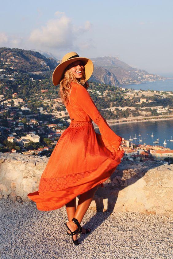 Оранжевое лето: 14 смелых образов, которые не захочется снимать ни за что