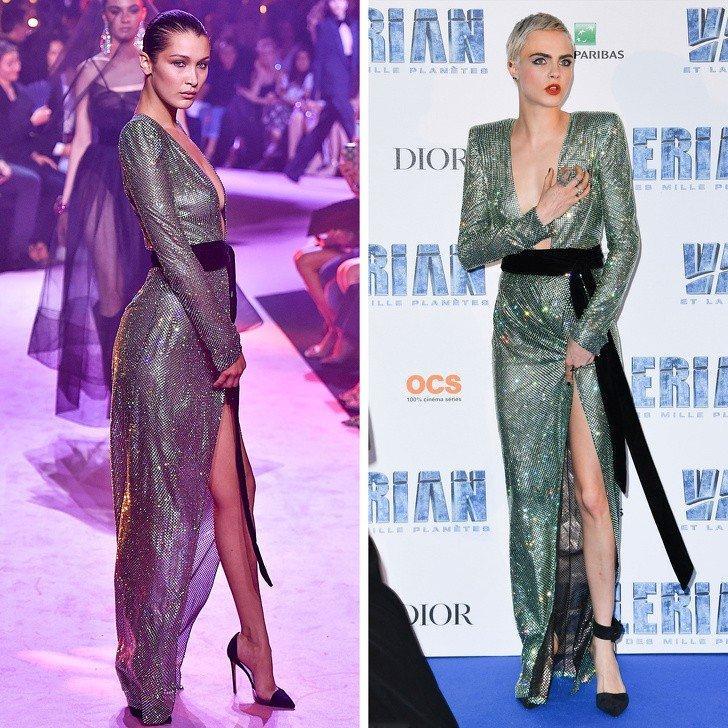 Одно платье на двоих: 10 звезд, которые доказывают, что всегда можно лучше