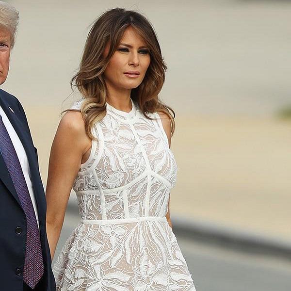 Бриджит Макрон больше не носит платья на встречу с Меланией Трамп, и вот почему