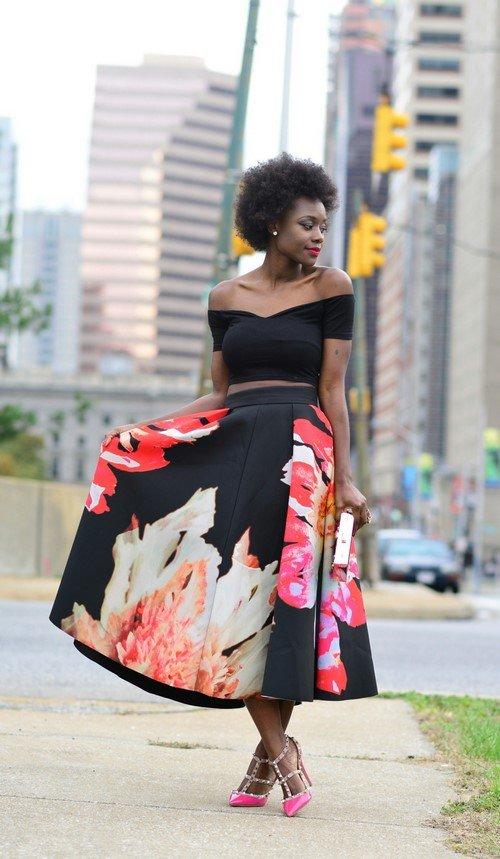 7 чудес лета: как носить юбку с принтом и быть самой модной