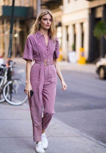 6 эффектных образов с комбинезоном, если вам надоели платья