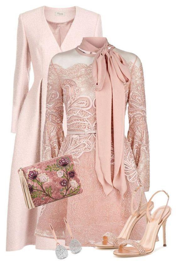 8 идей, как носить нежно-розовый и оставаться королевой в любой ситуации