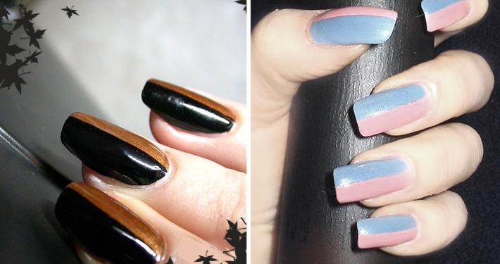 Модный маникюр: как красиво накрасить ногти в 2-х цветах? Какой маникюр сегодня в моде?