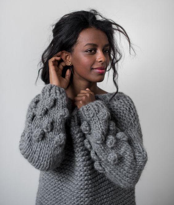 Как выглядит самый модный свитер Зимы–2018: 3 главных тенденции