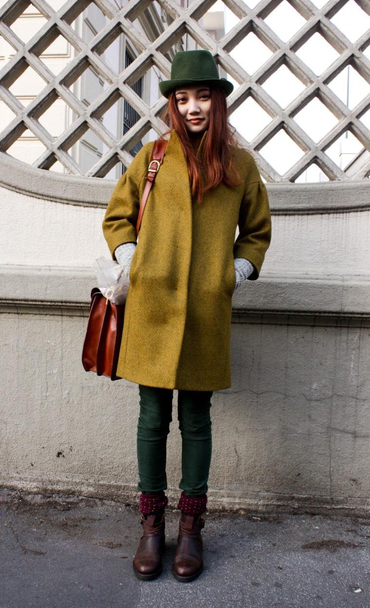 Небанальный образ: 5 идей, как носить шляпу-федору зимой
