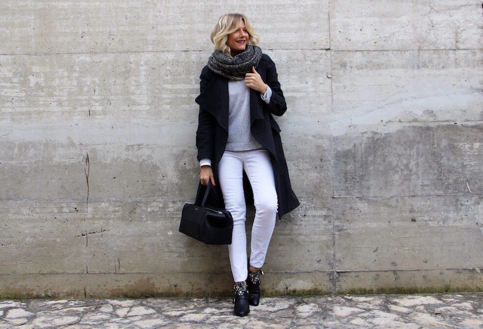 Черный, Белый, Серый: 8 идей, как носить, чтобы не быть скучной