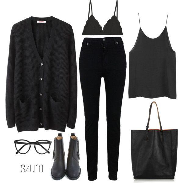 Черный на каждый день: 9 способов, как одеться стильно