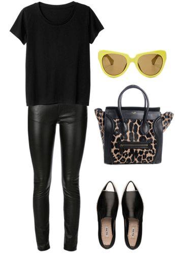 C чем носить кожаные скинни: 10 самых модных вариантов
