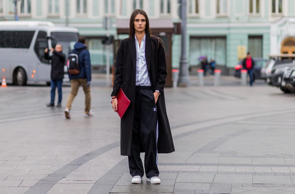 8 способов стильно сочетать брюки и пальто