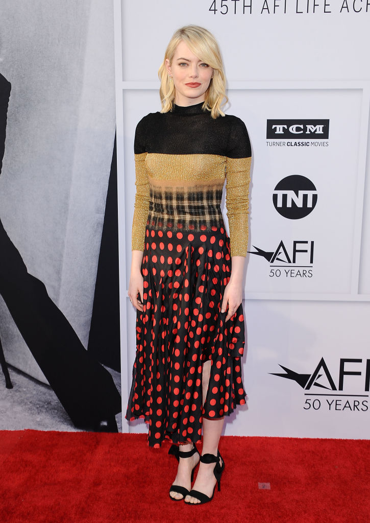 7 стильных образов Эммы Стоун: модный мастер-класс от 29-летней звезды