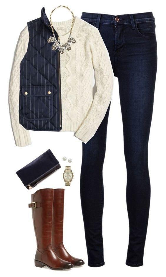 Как одеться стильно, когда на улице уже холодно: 10 идей-образов
