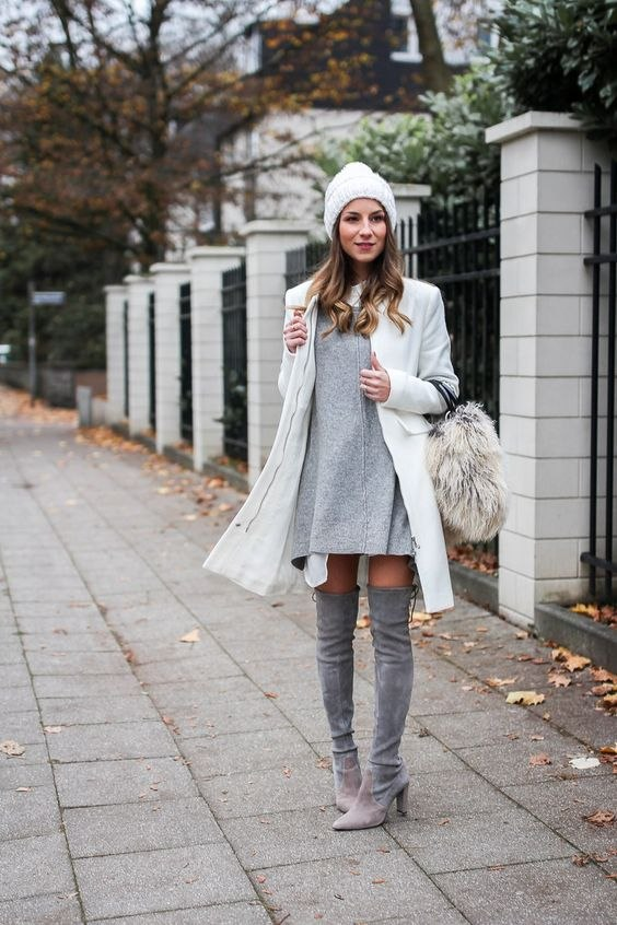 С чем носить ботфорты: 3 ультра-стильных сочетания на каждый день