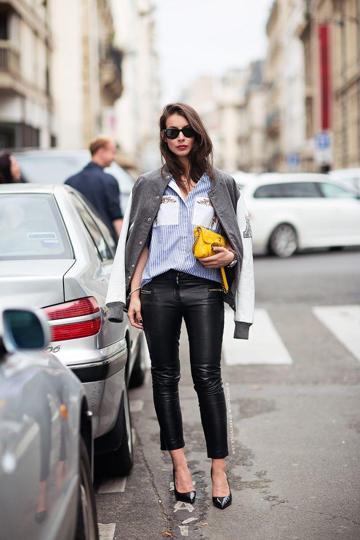 Кожаные брюки Скинни - Хит Сезона: 7 трендовых вариантов, как носить