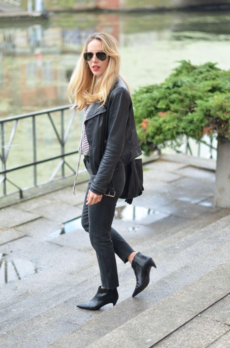 Мини-каблучок: 9 стильных образов с сапогами Kitten Heel