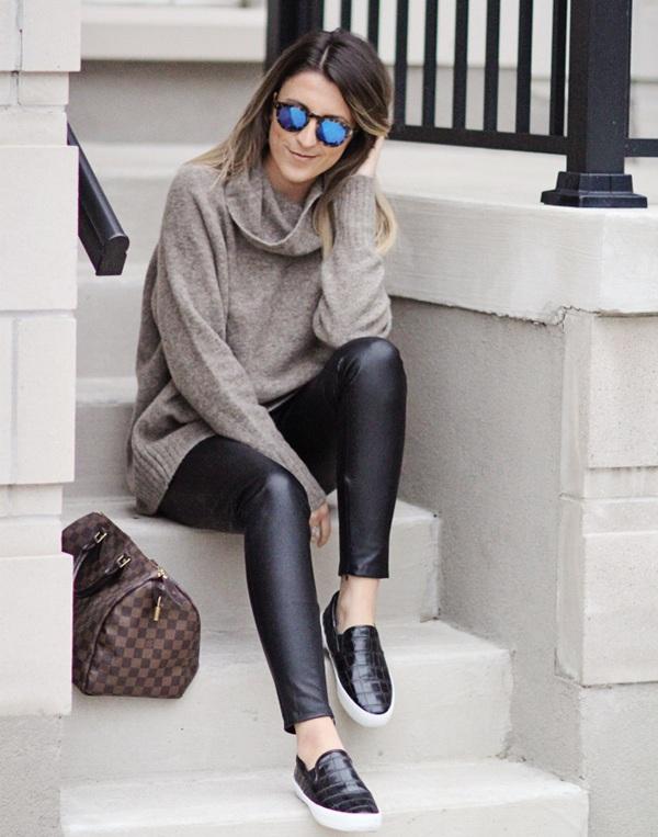 Как выглядит самый модный свитер зимы 2018 - 12 стильных образов